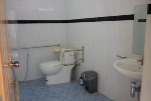Assistance to make Accessible Toilet at the Women Affairs Department
